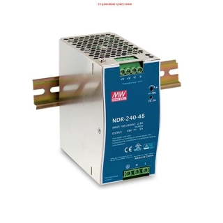 NDR-240-24 Mean Well Zdroj na DIN 240W 24V