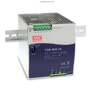 TDR-960-24 Mean Well Zdroj na DIN 960W 24V